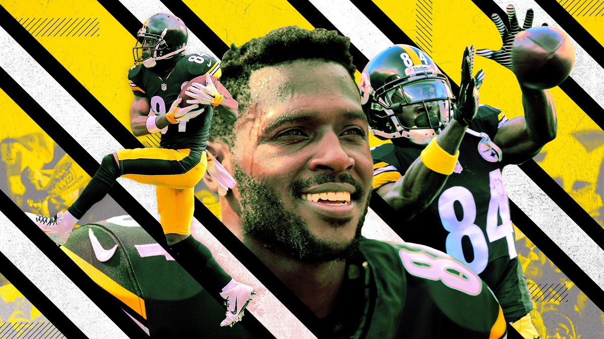 8a313b13705 Antonio Brown Is Approaching the NFL s All-Time Receiver Pantheon ...