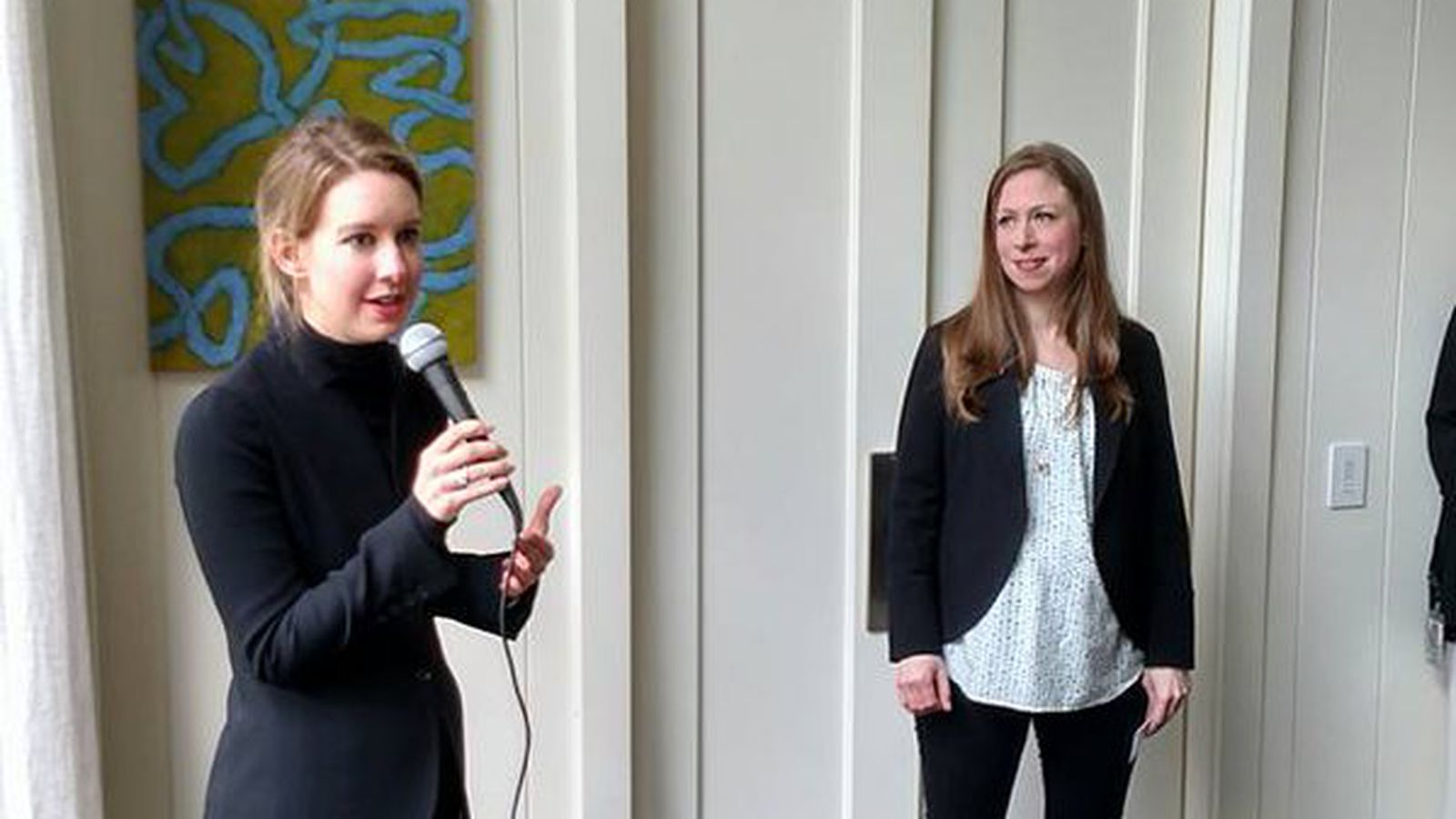 Here's a picture of Theranos CEO Elizabeth Holmes and ...