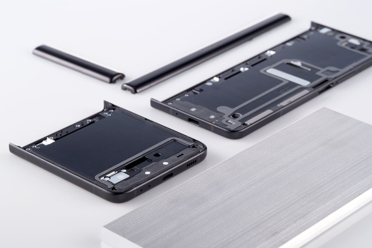 Armor Aluminum and parts from Samsung folding phones