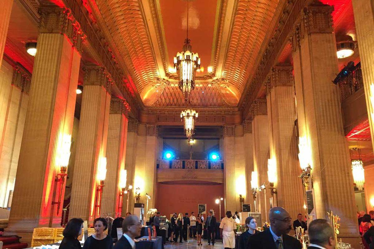 Lyric Opera of Chicago before the ceremony.
