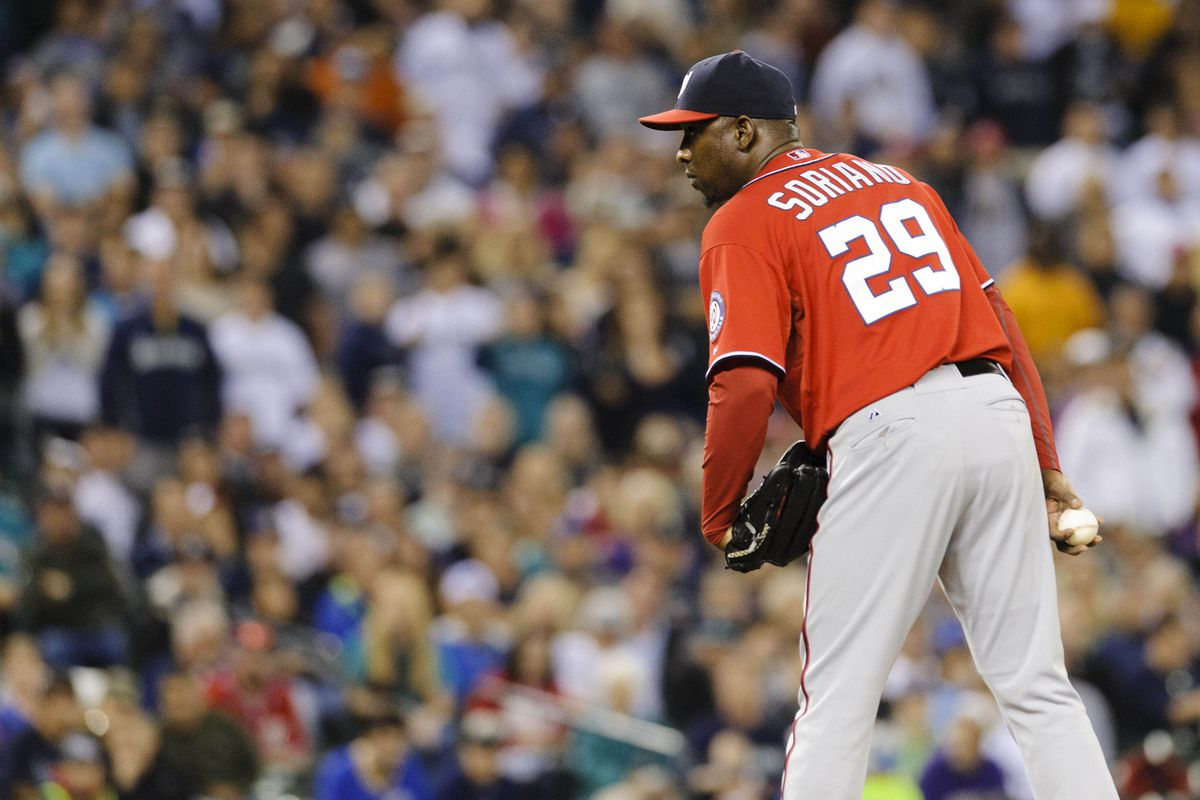 Rafael Soriano had two solid seasons in the nation's capital, but now he is moving on.