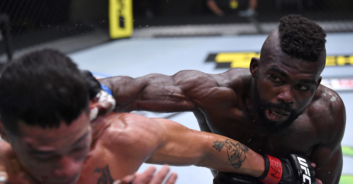 Impa Kasanganay vs. Sasha Palatnikov added to UFC's April 10 lineup