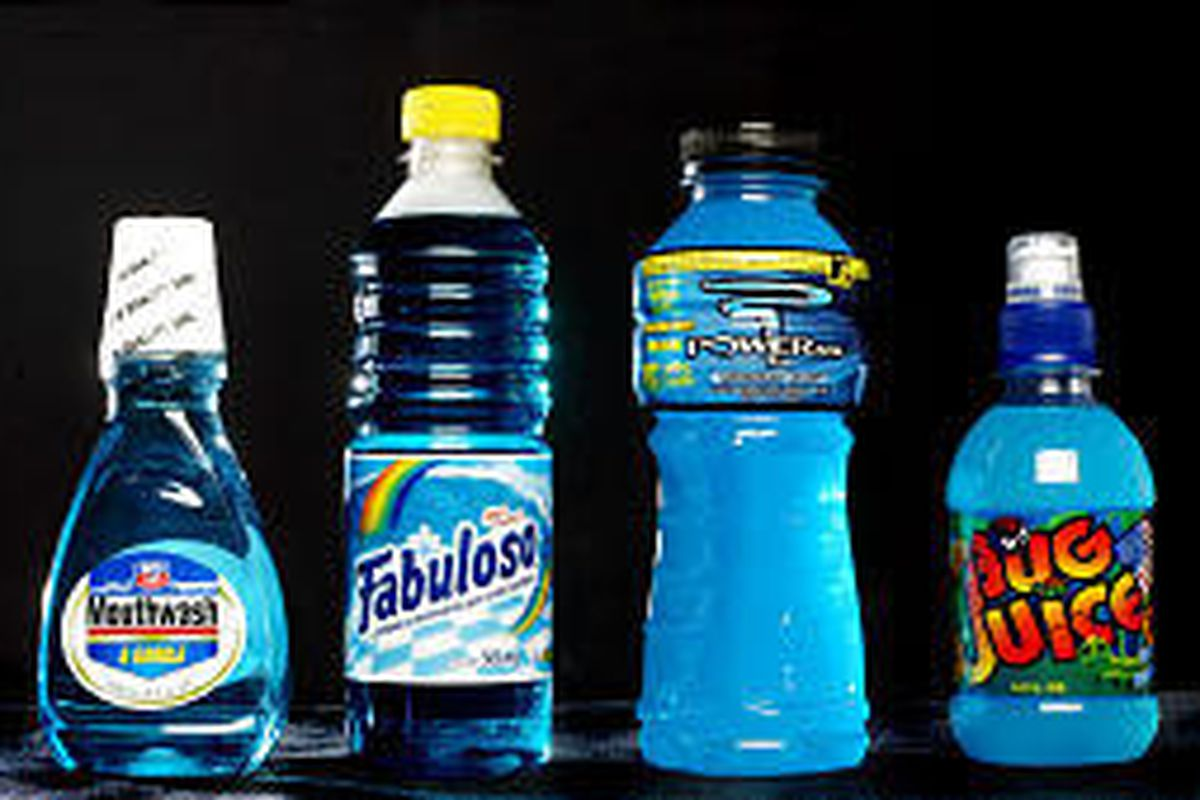 Beveragelike Bottle Holds Cleaner