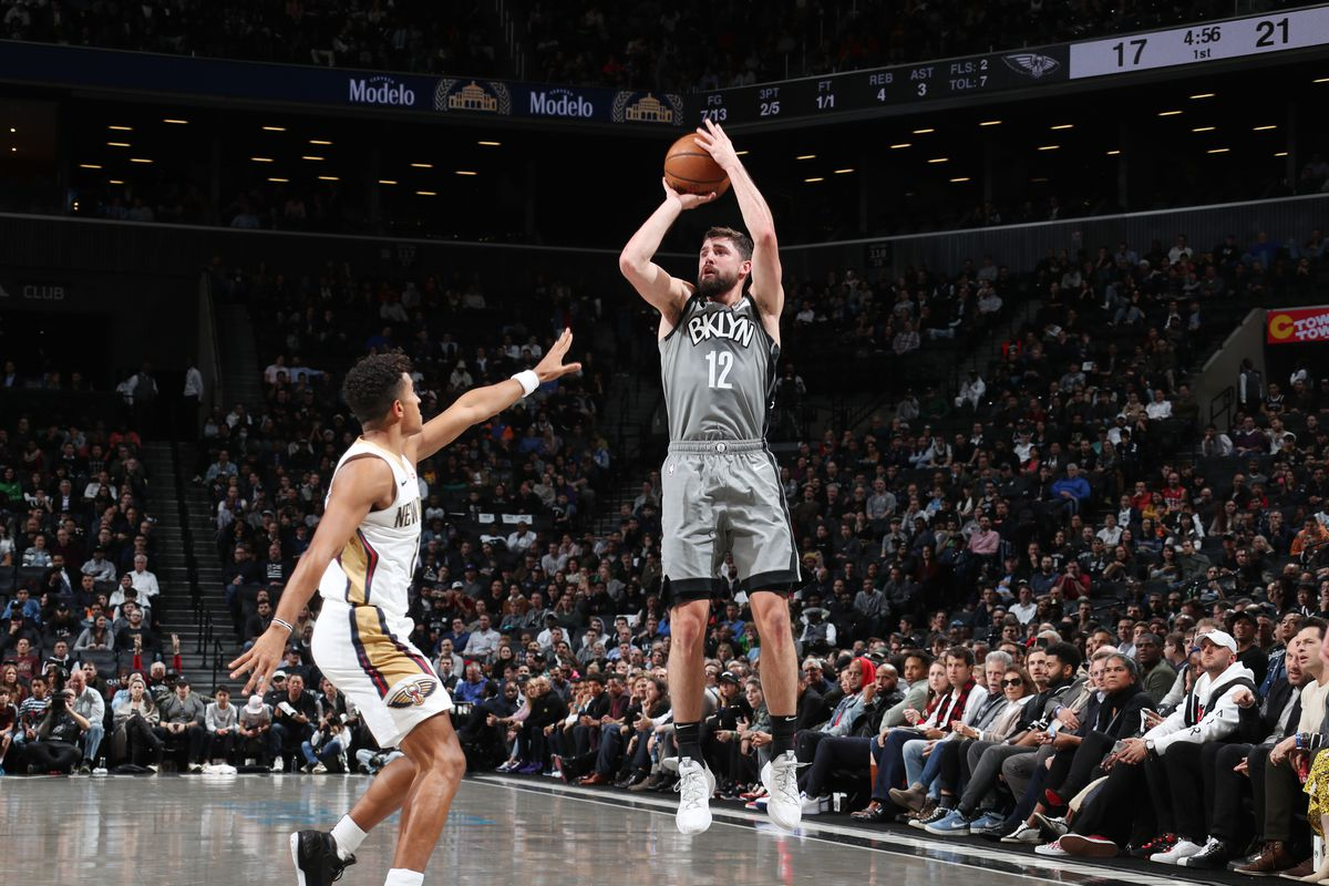 New Orleans Pelicans v Brooklyn Nets