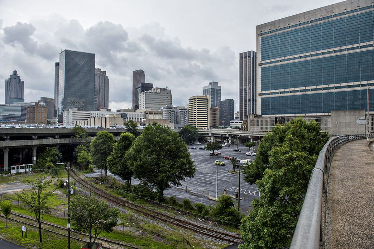 A photo of how the Los-Angeles-based developer has big ambitions for Atlanta's great depression.