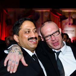 Chef of the Year and Rising Culinary Star Vikram Sunderam and Ed Witt