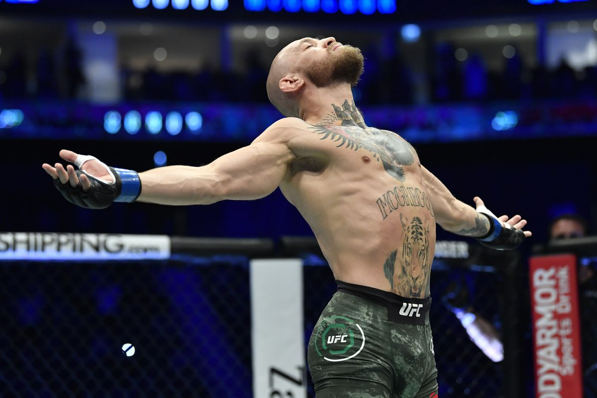UFC 257: Dustin Poirier v Conor McGregor before UFC 264