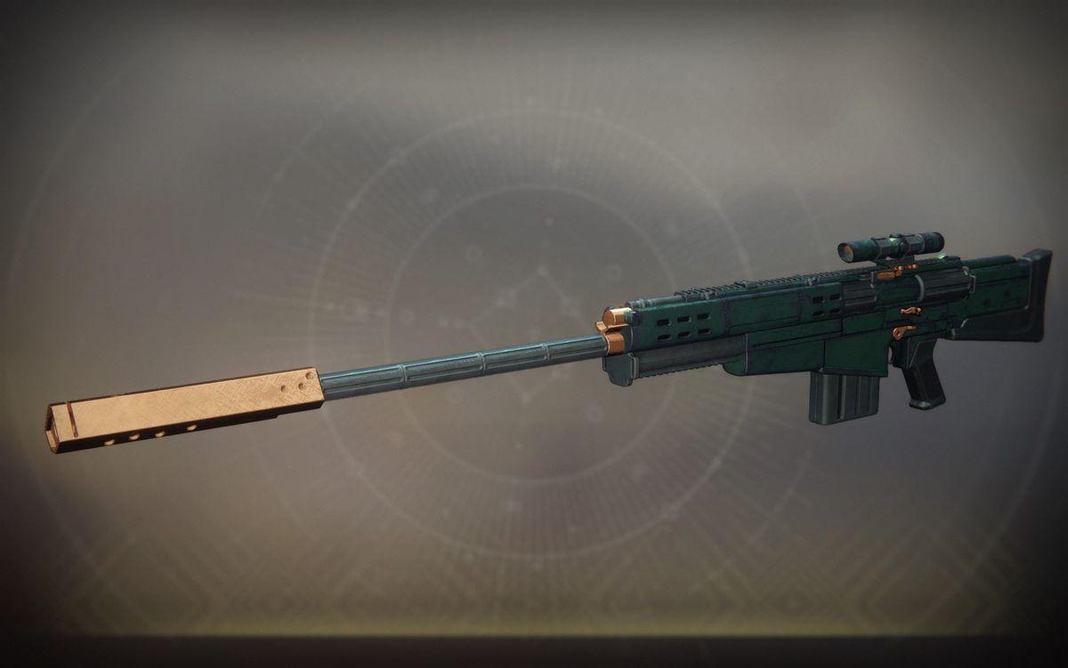 Destiny 2 - Silicon Neuroma sniper rifle