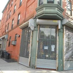 """Barbecue joint in Clinton Hill via <a href=""""http://www.brownstoner.com/blog/2012/08/construction-at-soon-to-be-bbq-joint-in-clinton-hill/"""">Brownstoner</a>."""