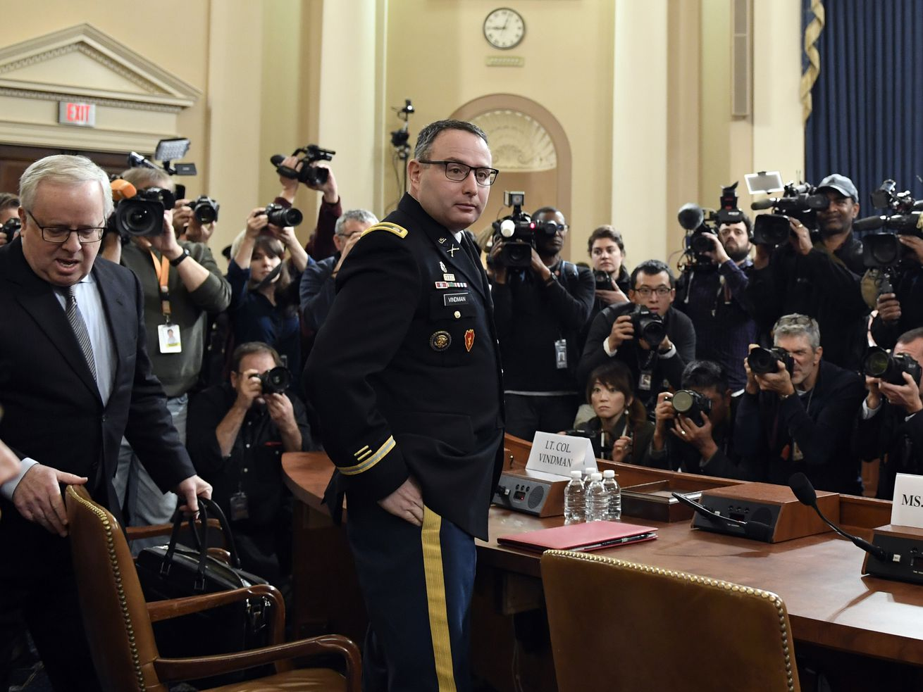 Republicans attack testimony of decorated Army officer in impeachment hearing
