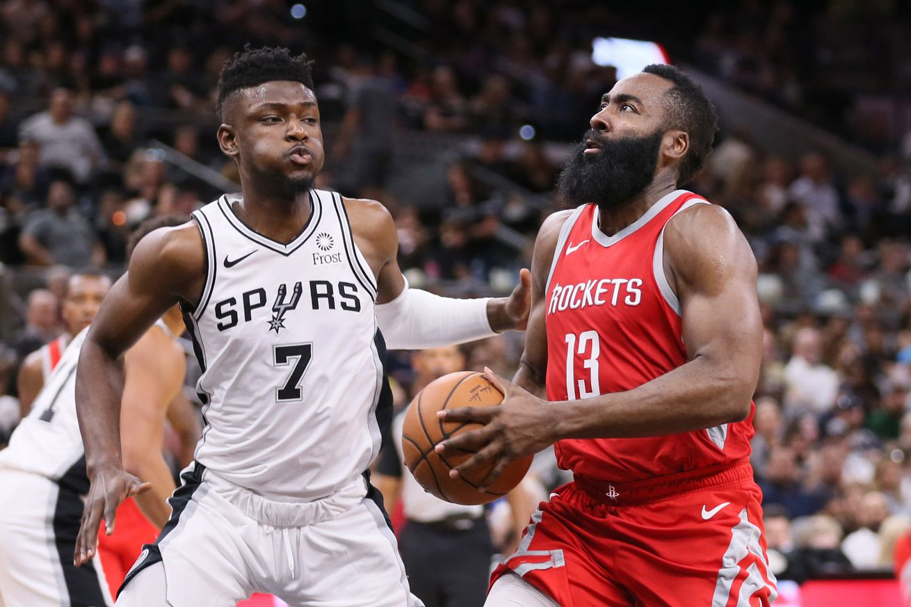 NBA: Preseason-Houston Rockets at San Antonio Spurs