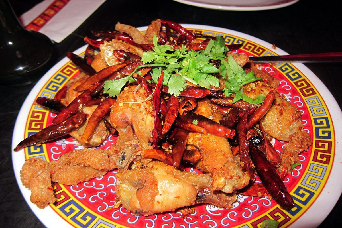 """The Chongqing Chicken Wings from Mission Chinese by <a href=""""http://www.flickr.com/photos/wallyg/7238023634/"""">wallyg</a>"""