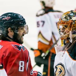 Ovechkin and Bryzgalov Speak, Probably in Russian