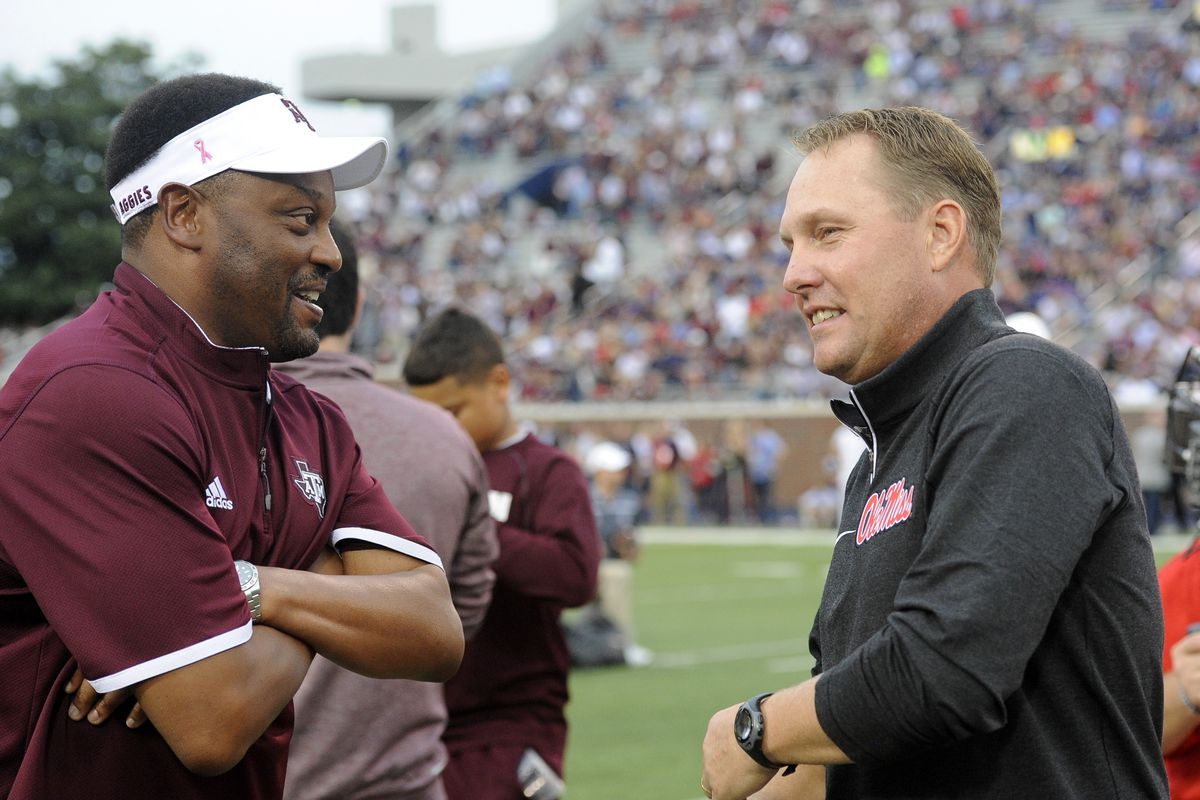 Sumlin And Freeze May Be Lo Ng For Real Estatets Real Soon Justin Ford Usa Today Sports