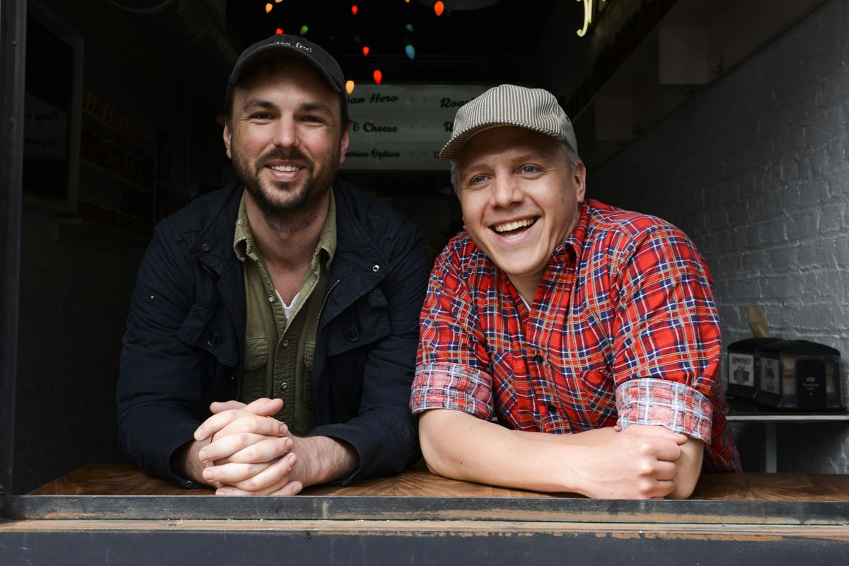 [Meat Hook co-owners Ben Turley and Brent Young]