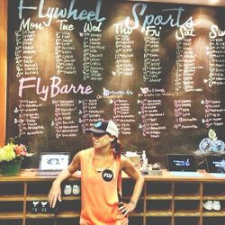 I am addicted to <b>Flywheel</b>. I absolutely adore everything about it: the community, the clothing, the kick-ass workout. Taking a spin class on Mondays is critical for my sanity: it kick starts the week ahead, acts as a detox from whatever I consumed