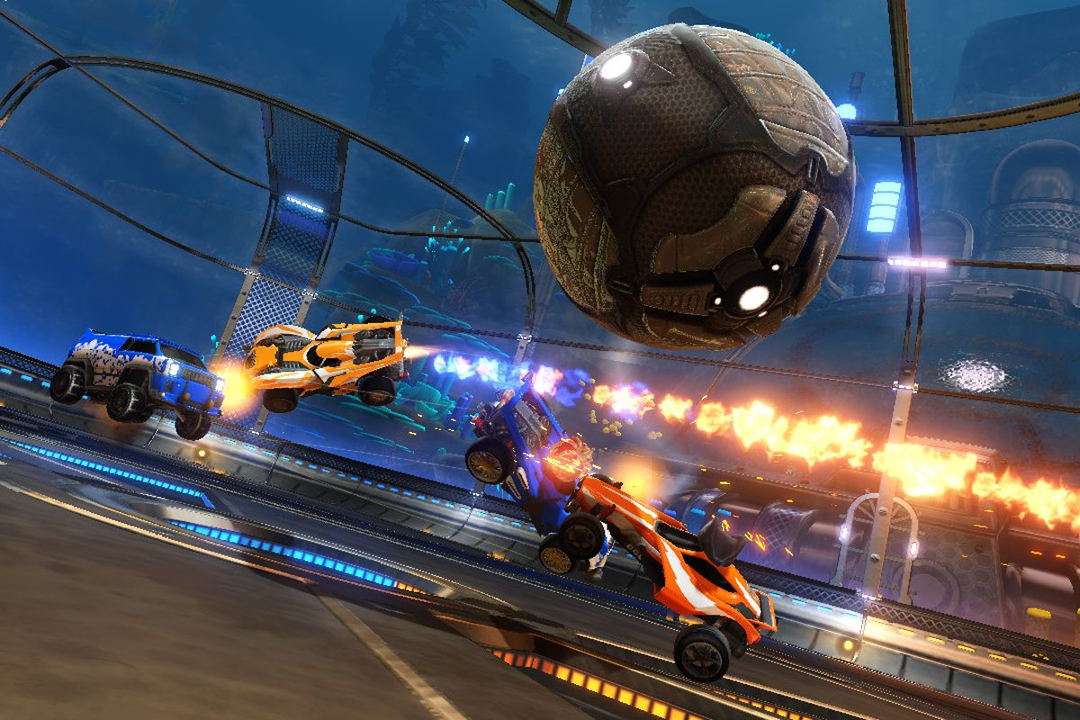 Rocket League on the Switch
