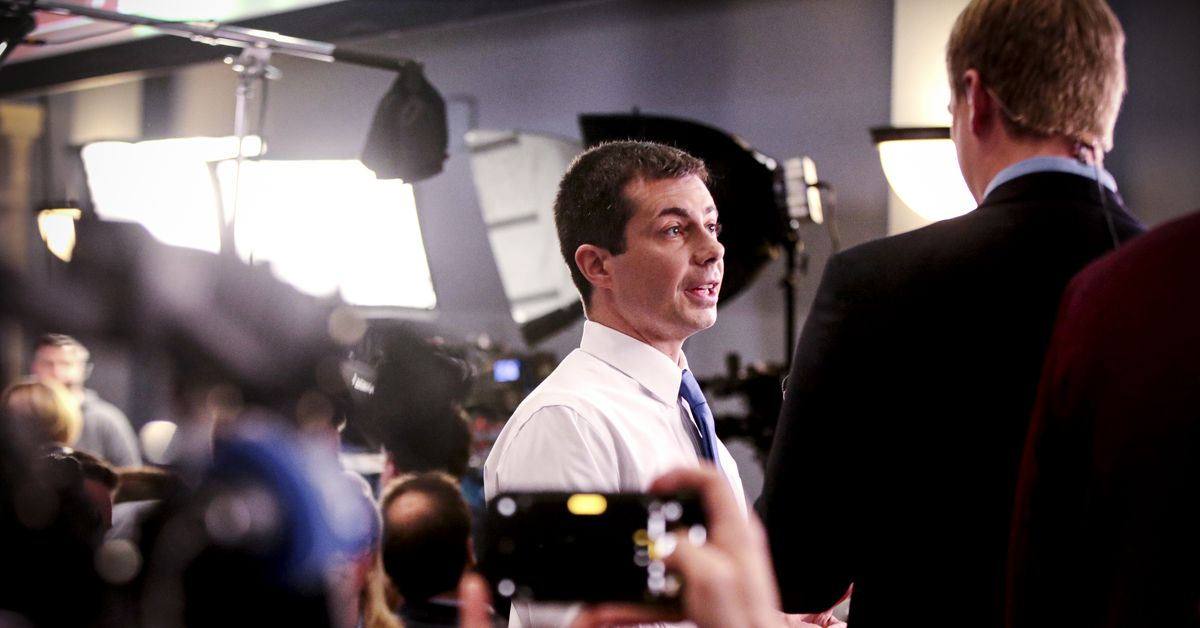 """Pete Buttigieg's attack on """"revolution politics"""" seemed to denounce what made his candidacy possible"""