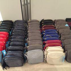 Meg crossbody bags, $95, originally $195