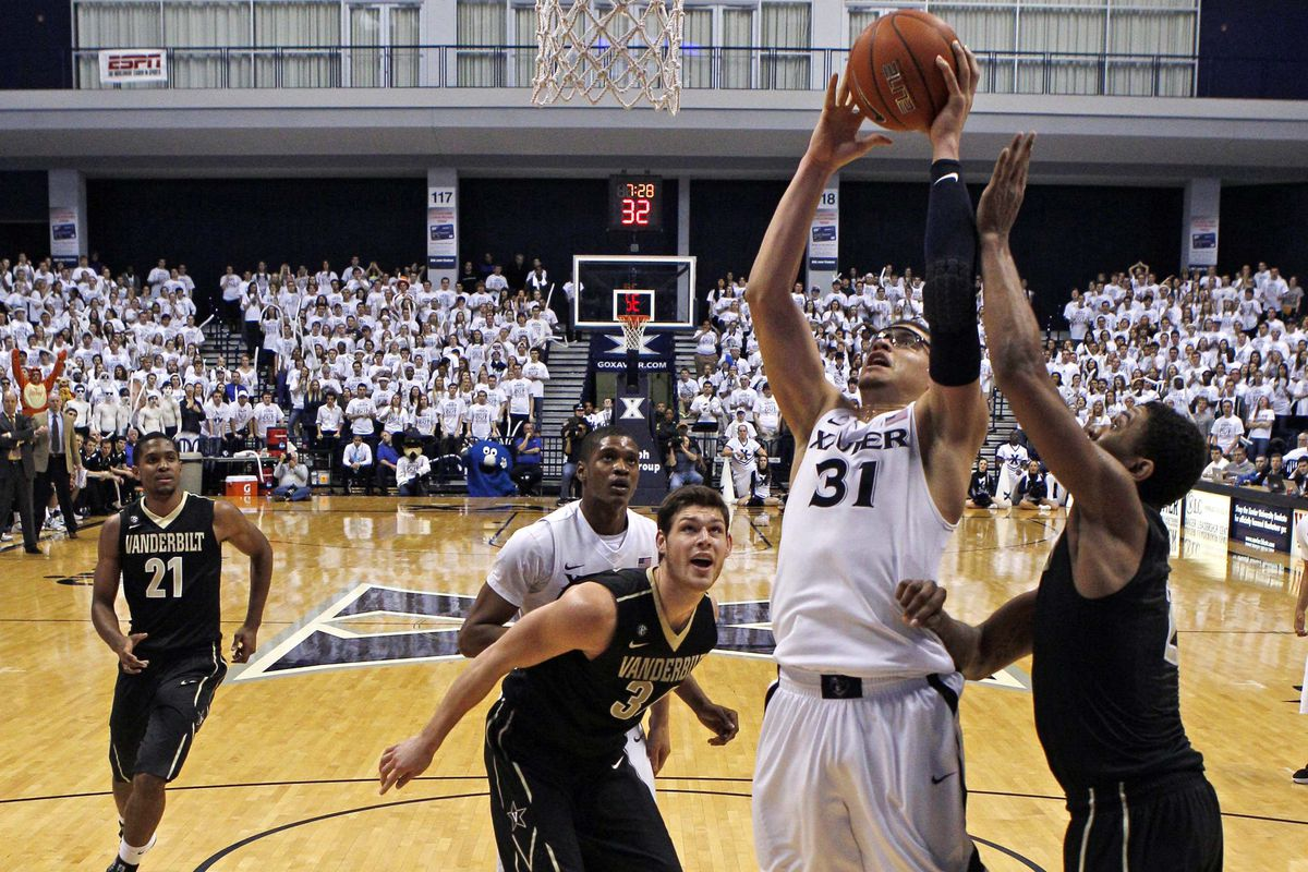 Isaiah Philmore battled down low, but Xavier still lost a very winnable game.