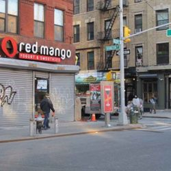 """Red Mango on the LES via via <a href=""""http://www.boweryboogie.com/2011/02/red-mango-at-145-allen-now-with-signage/"""" rel=""""nofollow"""">BB</a>"""