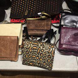 Mini cross-body bags, $150