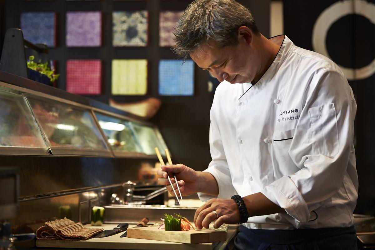 Zentan's Executive Chef Yo Matsuzaki