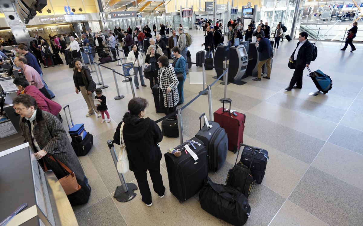 Busy Travel Day At Raleigh-Durham Airport As Region Recovers From Winter Storm