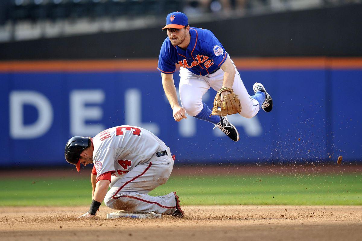 Actual photo of Daniel Murphy flying.