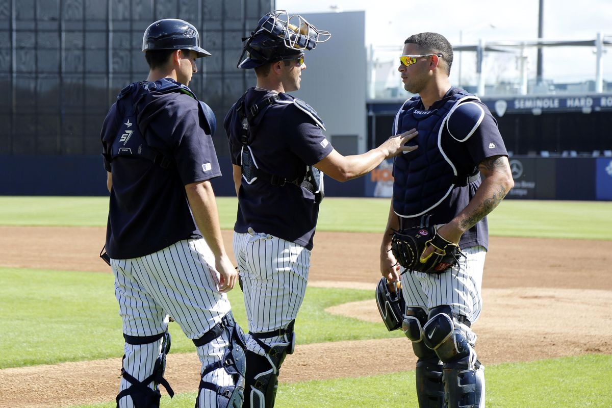 The Yankees have a catching problem
