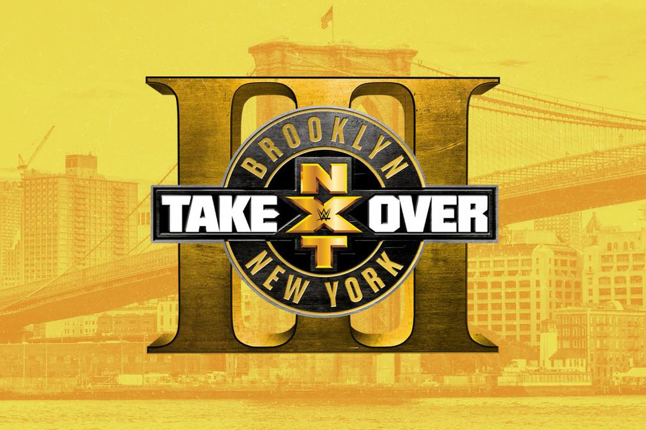 Image result for NXT TakeOver: Brooklyn III
