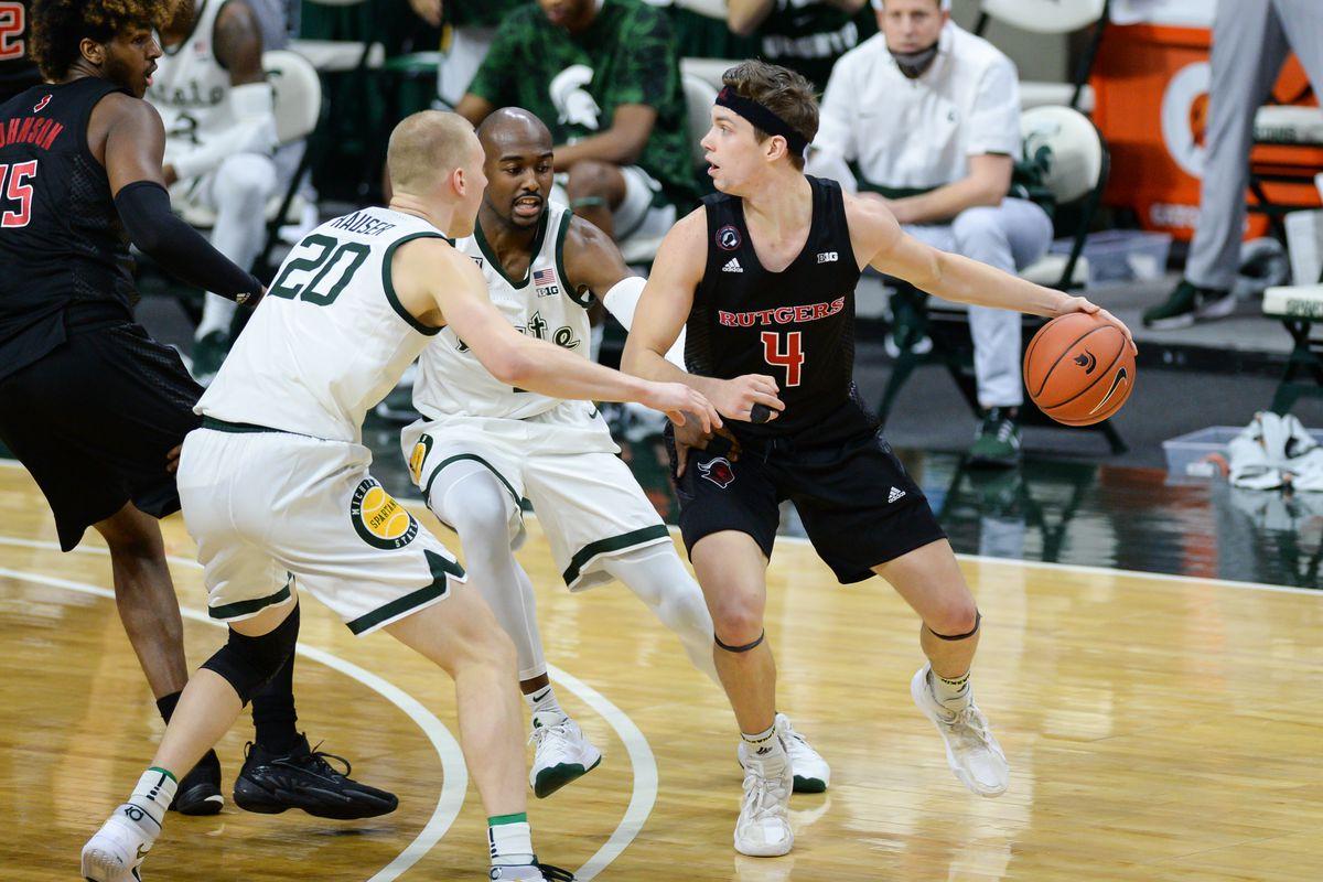 COLLEGE BASKETBALL: JAN 05 Rutgers at Michigan State