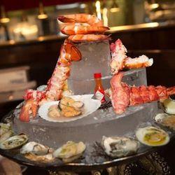 The shellfish platter.