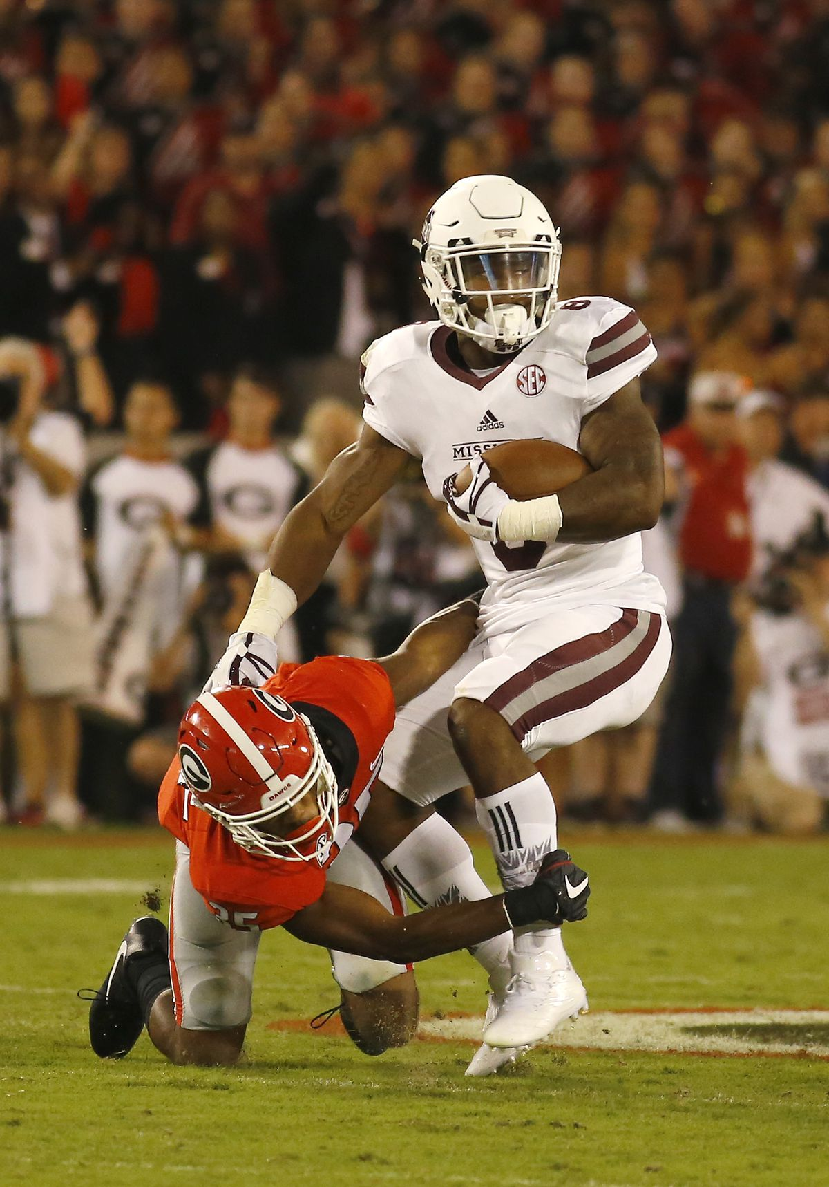 COLLEGE FOOTBALL: SEP 23 Mississippi State at Georgia