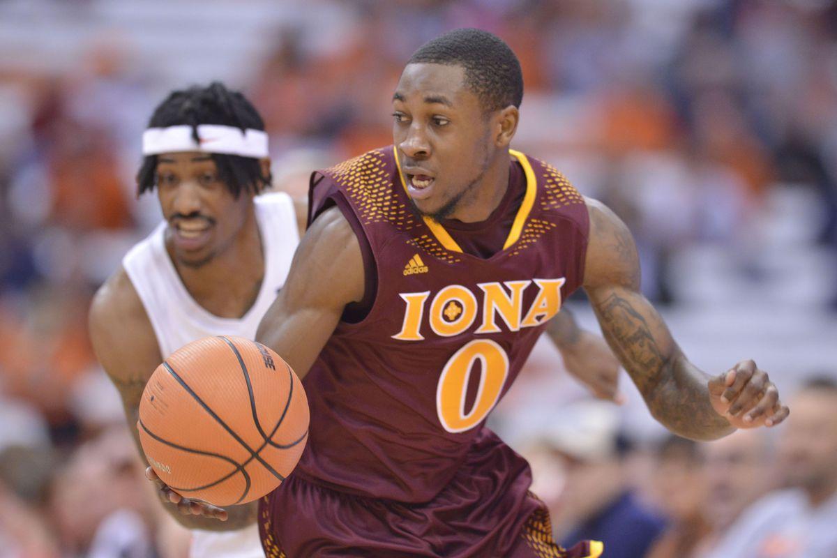 NCAA Basketball: Iona at Syracuse