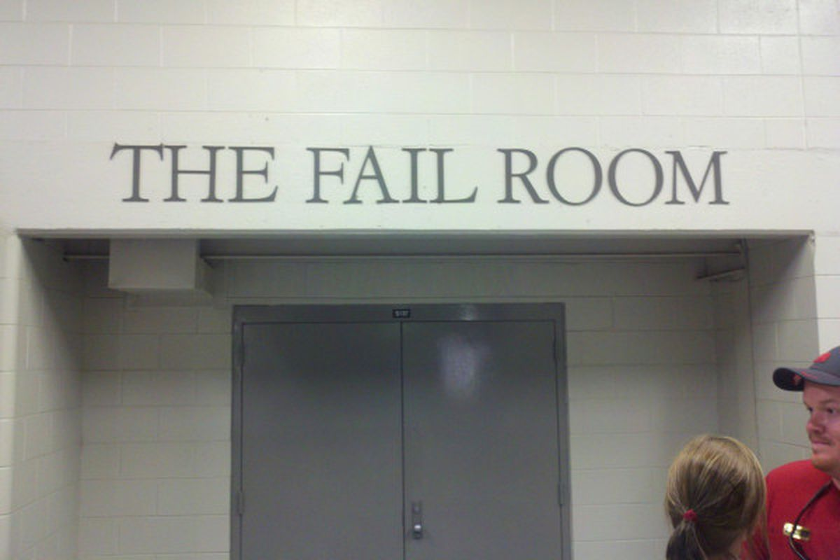 Fail Locker Room Alabama