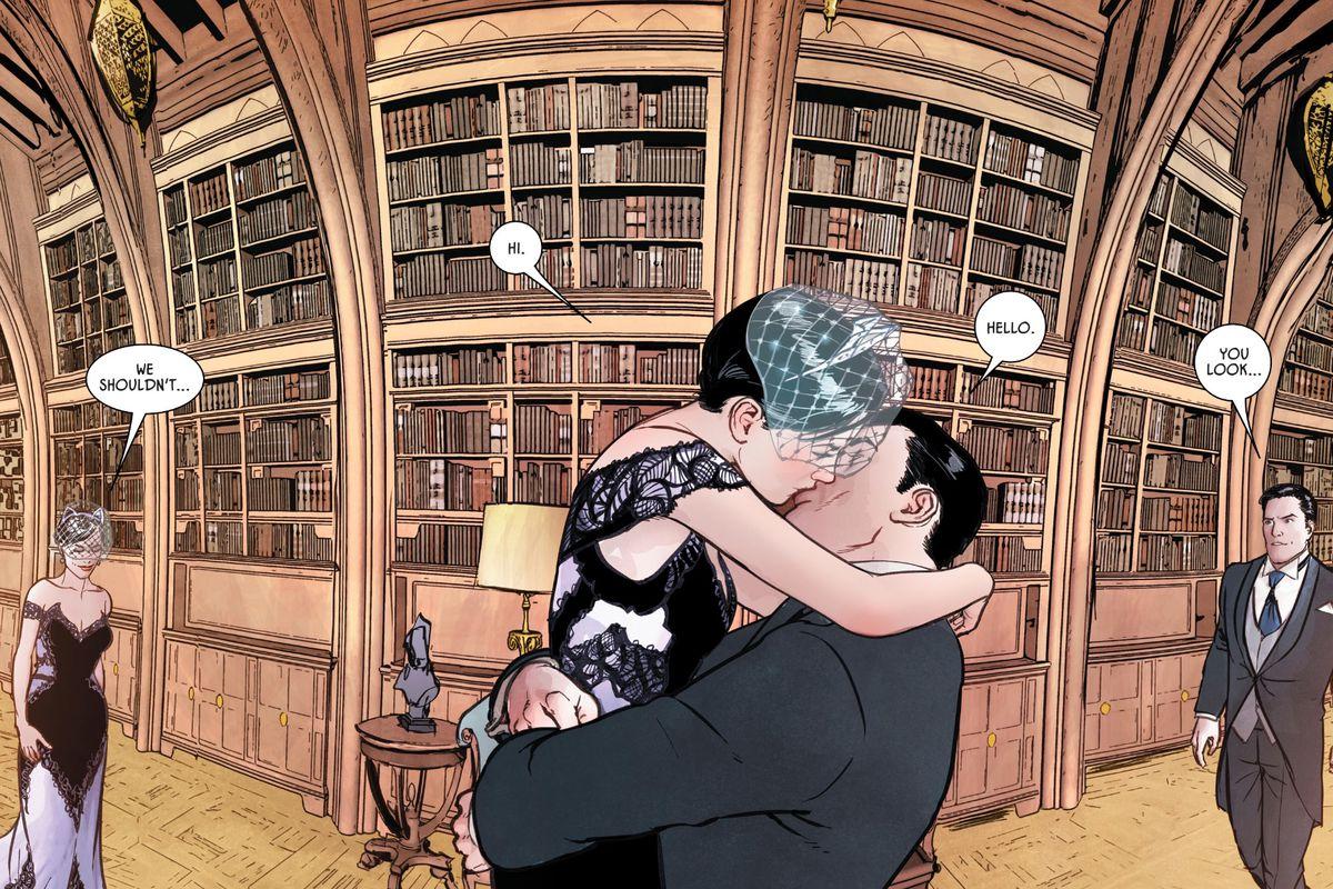 Selina Kyle and Bruce Wayne in Batman #50, DC Comics (2018).