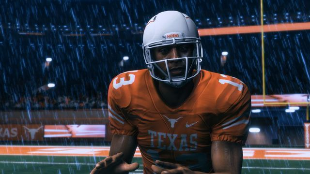 Texas and Oregon appeared in <em>Madden NFL 18</em>'s Longshot story mode, four years after the NCAA Football series was canceled.