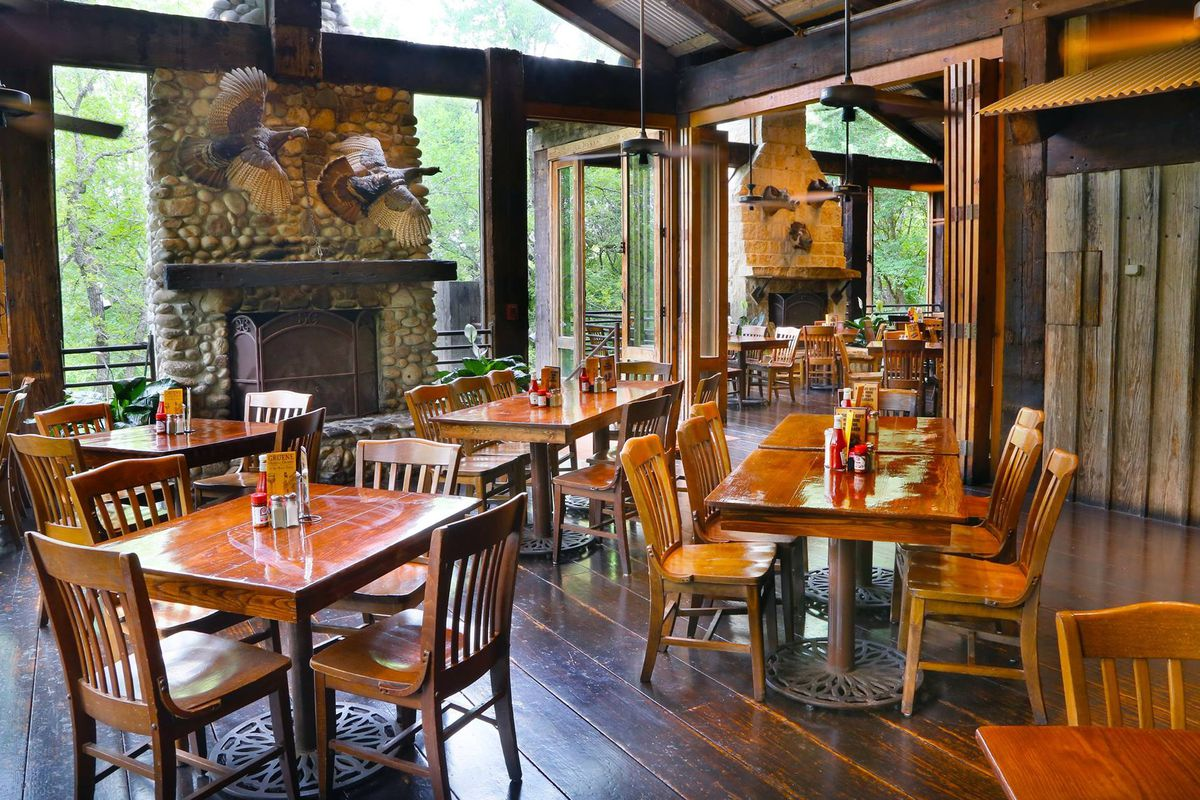 Gristmill River Restaurant in New Braunfels