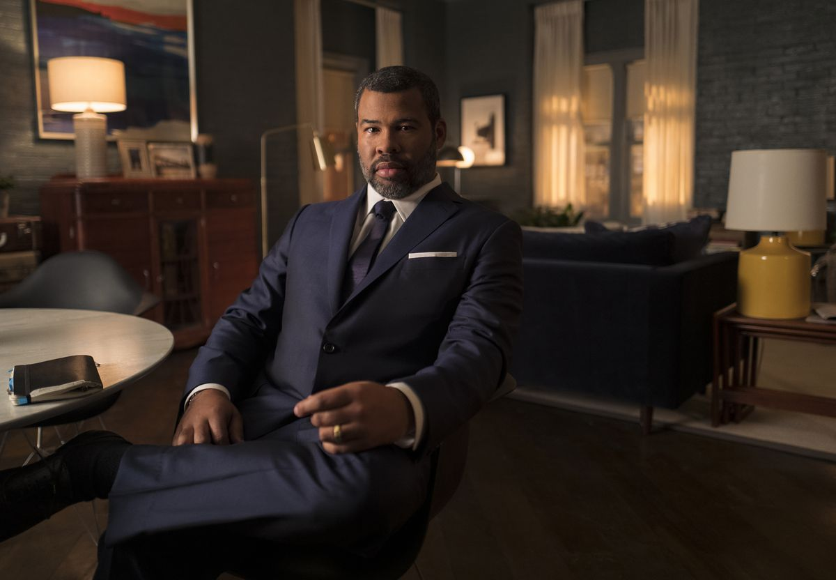 """One of the executive producers of the new """"Twilight Zone,"""" """"Us"""" director Jordan Peele, also acts as its narrator.   CBS Interactive"""
