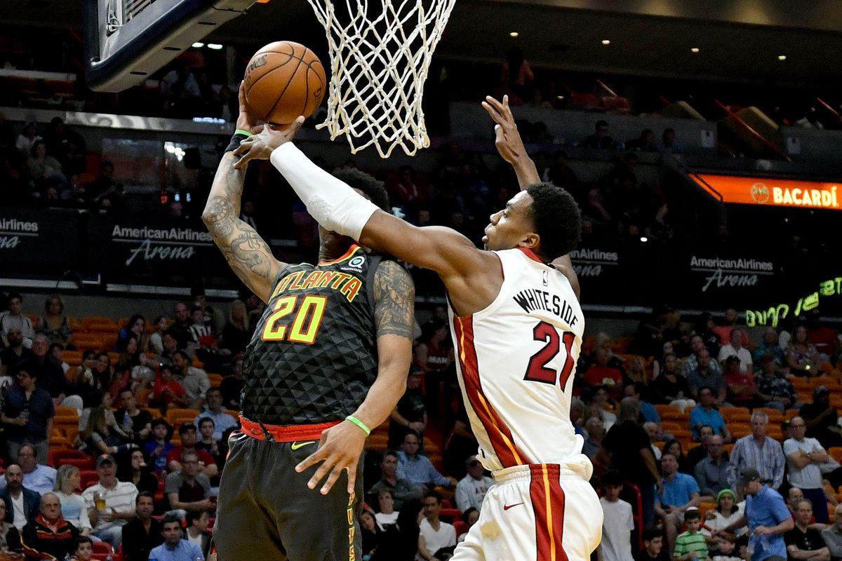 NBA: Atlanta Hawks at Miami Heat