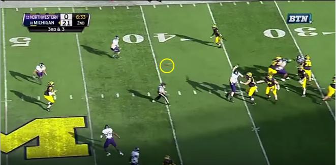 FF - Northwestern - Williams - 13-Yard Hitch - 4