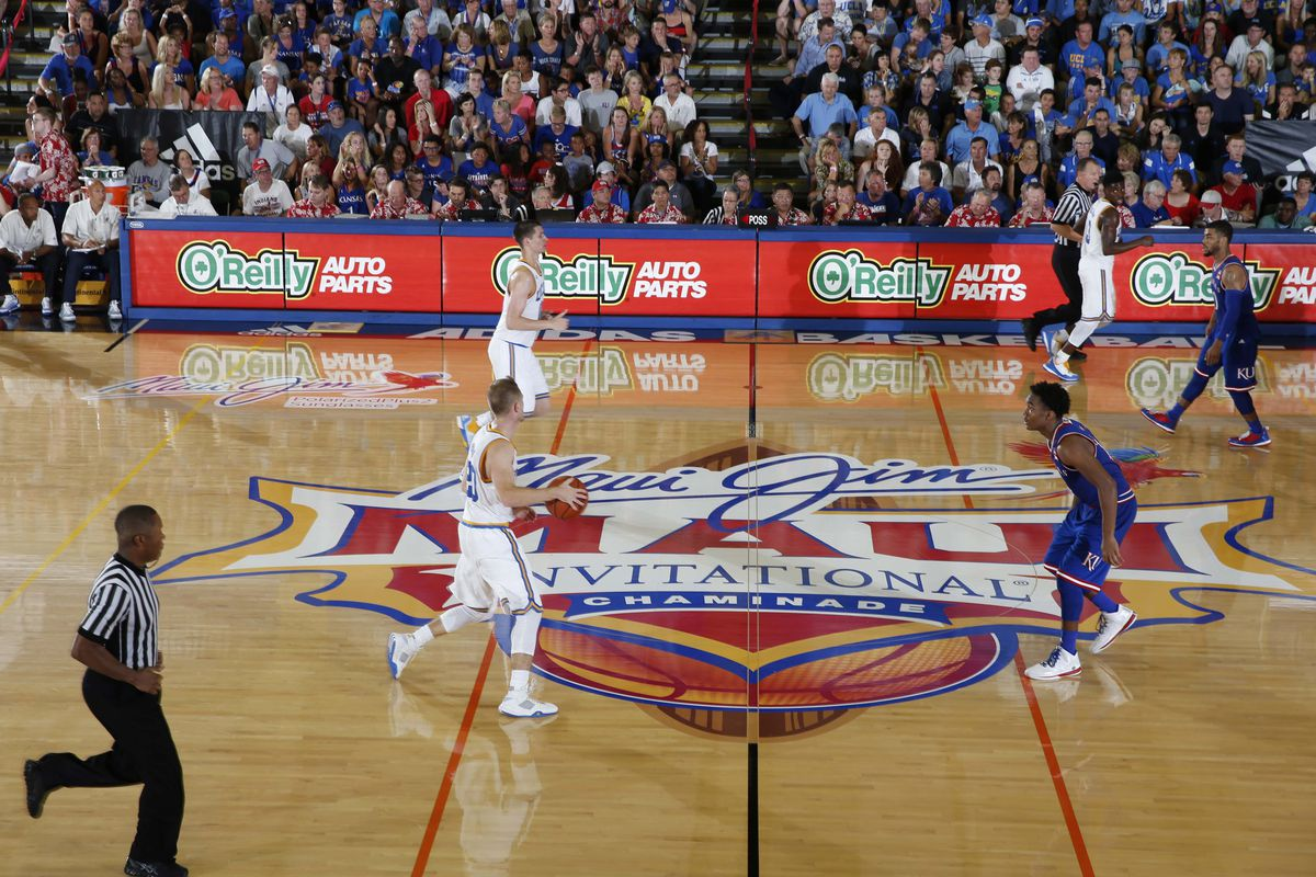 NCAA Basketball: Maui Invitational Game 8 UCLA Bruins v Kansas Jayhawks