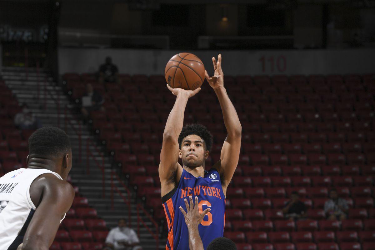 2021 Las Vegas Summer League - New York Knicks v Indiana Pacers