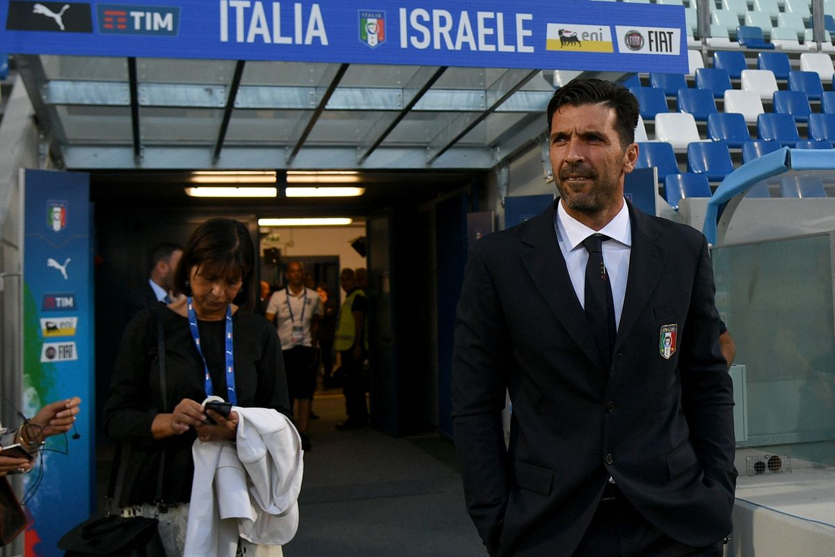Italy Press Conference And Pitch Inspection