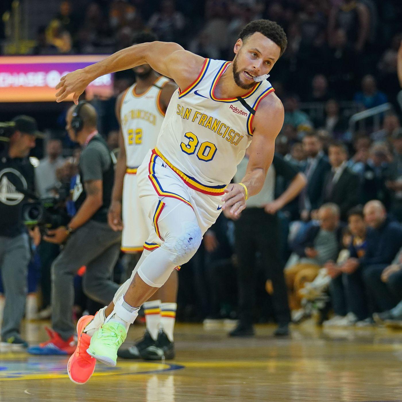 Stephen Curry S Return To The Warriors Felt Like He Never Left Sbnation Com