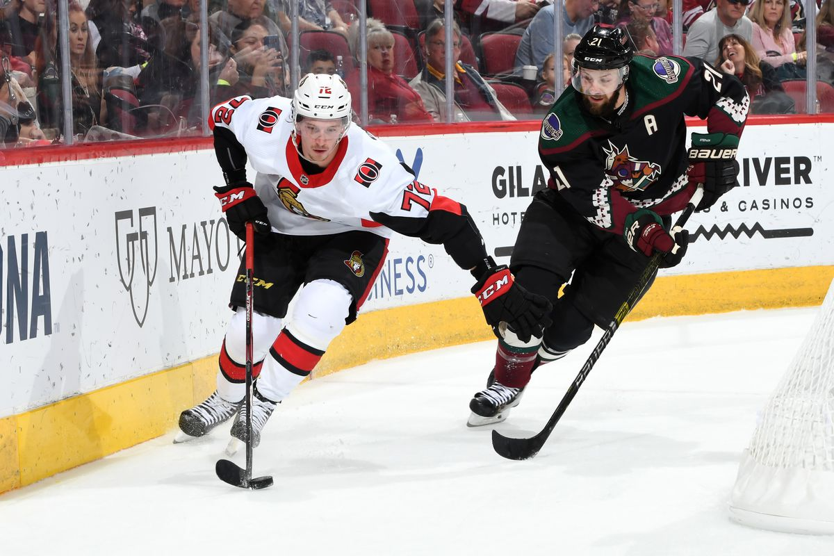 Sens Lose 5-2 to the Coyotes In A Missed Comeback Opportunity