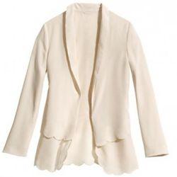 Recycled fabric blazer, $49.95