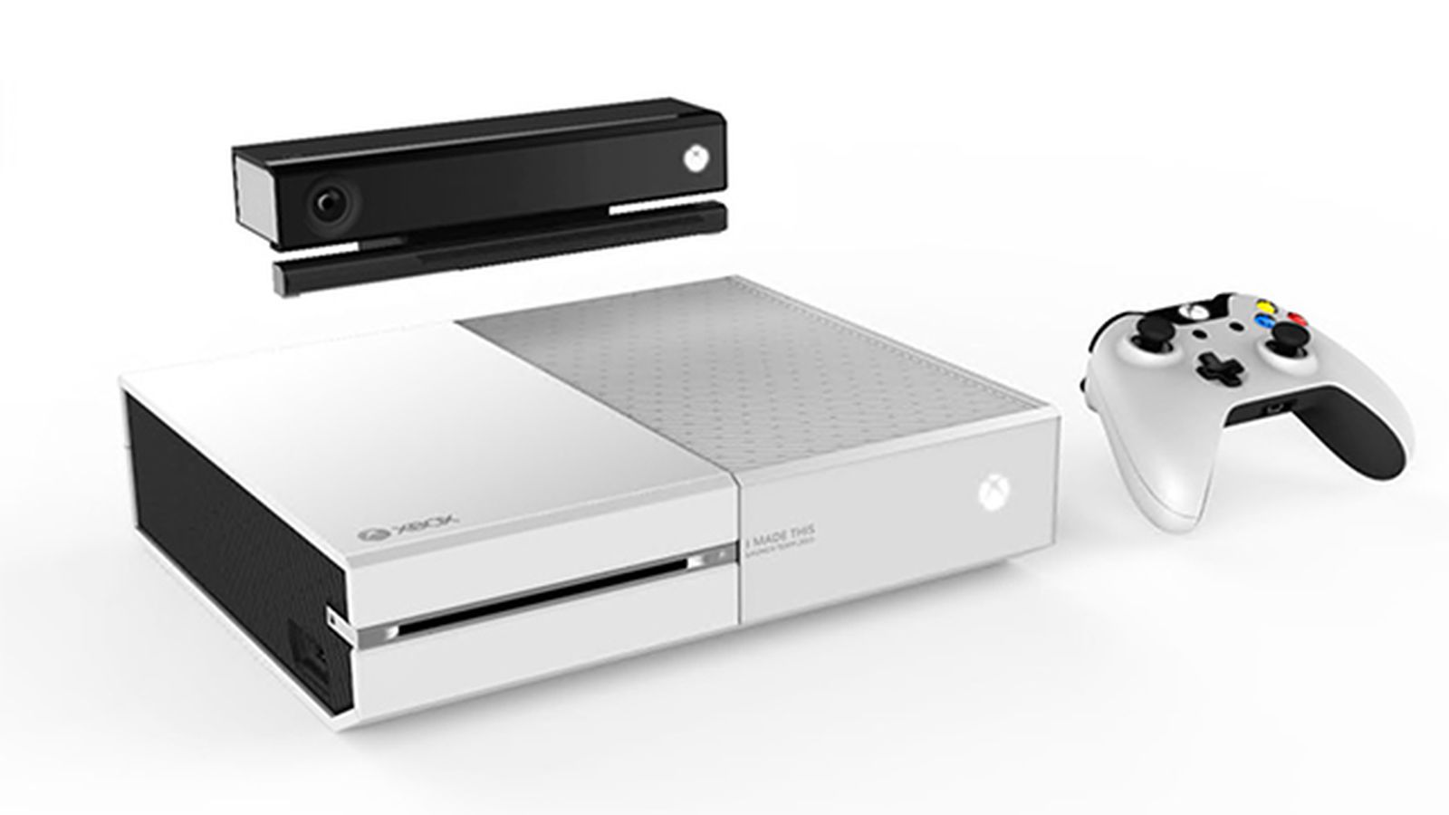Foyer Colors Xbox One : Microsoft creates white xbox one for employees the verge