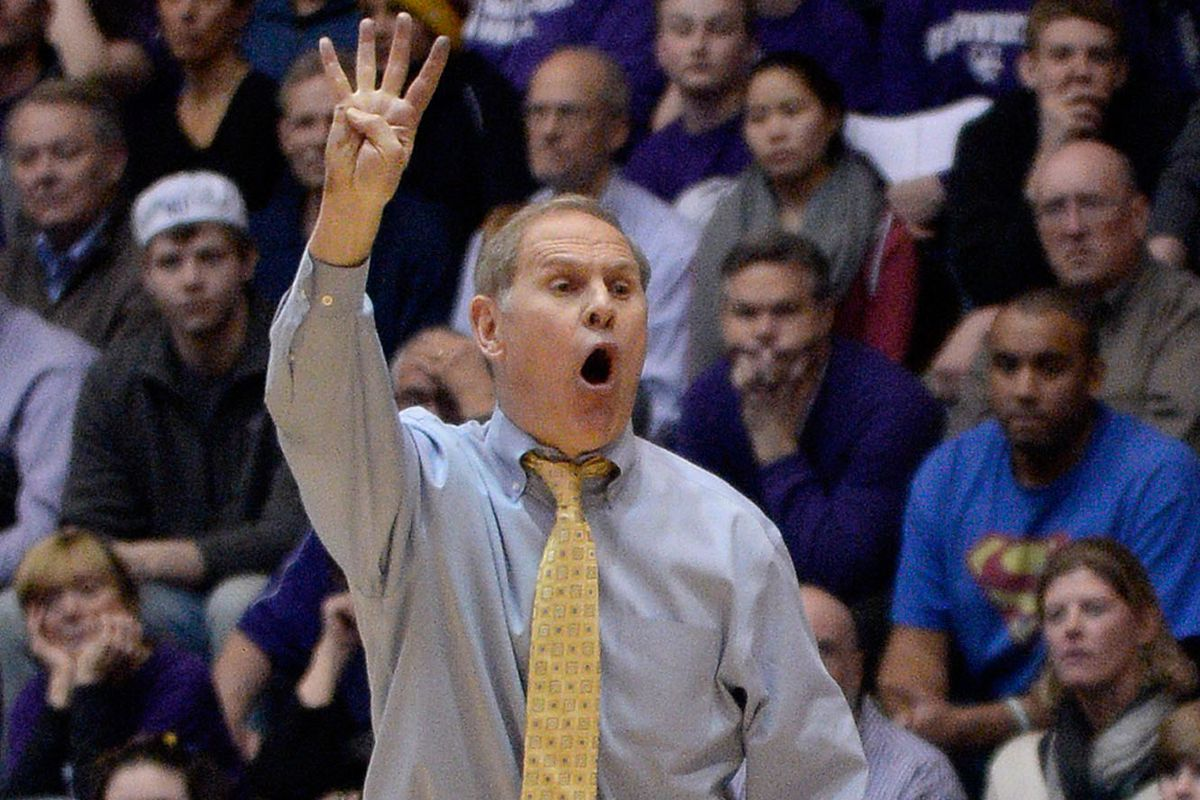 Coach John Beilein knows exactly how many wins Michigan needs to win the BTT